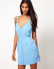 ASOS Tulip Dress With Spaghetti Straps