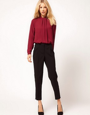 Image 4 ofASOS Blouse With Gathered Neck
