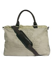 Religion Washed Canvas Holdall