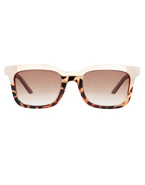 Image 2 ofASOS Retro Sunglasses With Metal Top