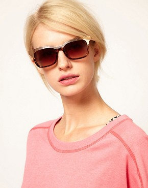 Image 3 ofASOS Retro Sunglasses With Metal Top