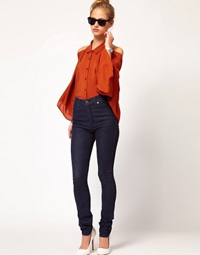Image 4 ofCheap Monday High Waist Skinny Jeans