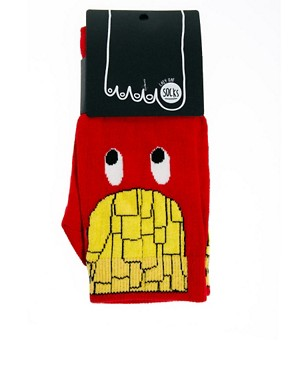 Image 3 ofLazy Oaf French Fries Socks