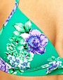 Image 3 ofSeafolly Rococo Rose Fixed Moulded Triangle Bikini Top