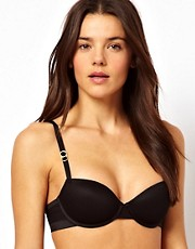 Stella McCartney - Reggiseno velato a balconcino
