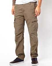Carhartt &ndash; Aviation  Eng geschnittene Ripstop-Cargohose