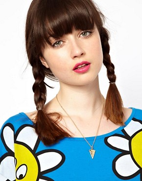 Image 4 ofLazy Oaf Pizza Slice Necklace