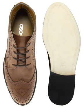 Image 3 ofASOS Chukka Boots With Leather Sole