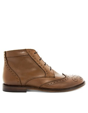 Image 4 ofASOS Chukka Boots With Leather Sole