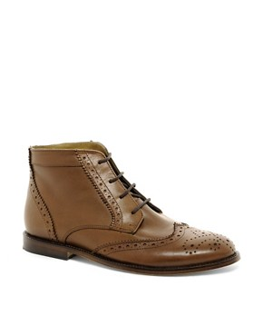 Image 1 ofASOS Chukka Boots With Leather Sole