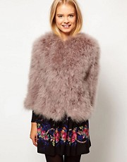ASOS Premium Feather Jacket