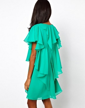 Image 2 ofASOS Mini Dress With Ruffles