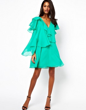 Image 4 ofASOS Mini Dress With Ruffles