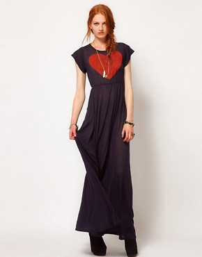 Image 1 ofWildfox True Love Piper Maxi Dress