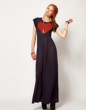 Image 4 ofWildfox True Love Piper Maxi Dress