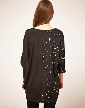 Image 2 ofTwinkle By Wenlan Across The Seam Tunic