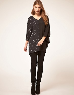 Image 4 ofTwinkle By Wenlan Across The Seam Tunic
