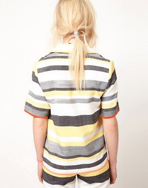 Image 2 ofASOS AFRICA Stripe Jacket