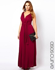 ASOS CURVE Exclusive Grecian Maxi Dress