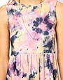 Image 3 ofASOS Smock Dress In Tie Dye Print