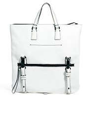 ASOS Premium Leather Tote Bag
