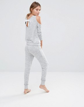 New Look Cut & Sew Pyjama Jogger