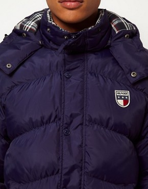 Image 3 ofHilfiger Denim Jacket with Detachable Hood