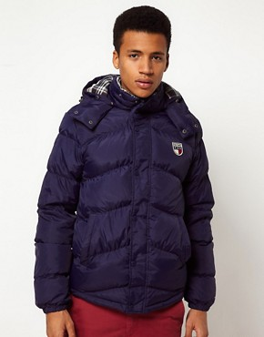 Image 1 ofHilfiger Denim Jacket with Detachable Hood