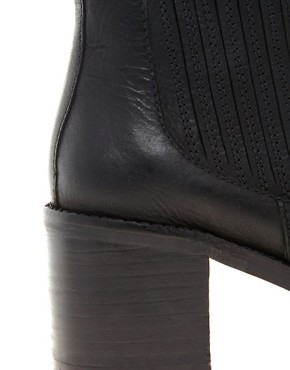 Image 2 ofASOS AUTUMN Leather Ankle Boots