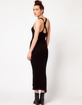 Image 2 ofAmerican Apparel Cross Back Knit Dress