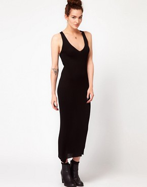 Image 4 ofAmerican Apparel Cross Back Knit Dress