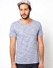 Farah Vintage T-Shirt with Space Dye