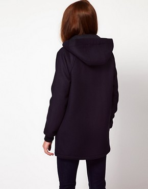 Image 2 ofLacoste Live Duffle Coat