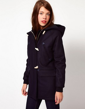 Image 1 ofLacoste Live Duffle Coat