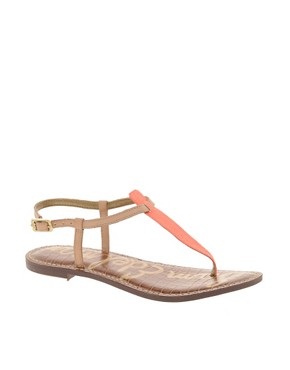 Image 1 ofSam Edelman Gigi Neon Flat Sandals