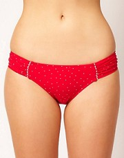 Seafolly Harlow Ruched Side Bikini Pant