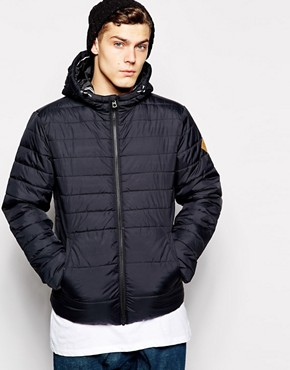 Jack & Jones Hooded Padded Panel Jacket