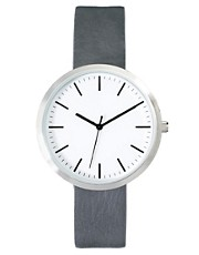 River Island Minimal Grey Watch
