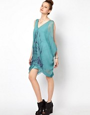2nd Day Kate Tie Dye Short Dress in Chiffon