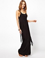 Denim &amp; Supply By Ralph Lauren Fringed Maxi Dress