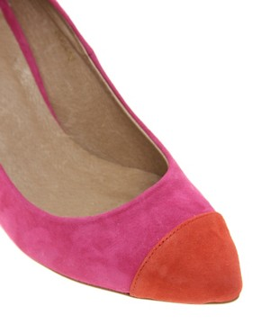 Image 2 ofASOS SIZZLE Suede Pointed Heels