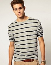 ASOS 3/4 Sleeve T-Shirt With Pocket