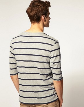 Image 2 ofASOS 3/4 Sleeve T-Shirt With Pocket