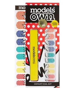 Image 1 ofModels Own WAH Nail Transfers - POW