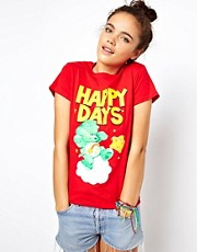 Joystick Junkies Care Bears Happy Days T-Shirt