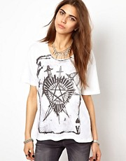 Religion Ace Of Hearts T-Shirt