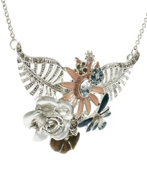 Image 4 ofPilgrim Floral Necklace