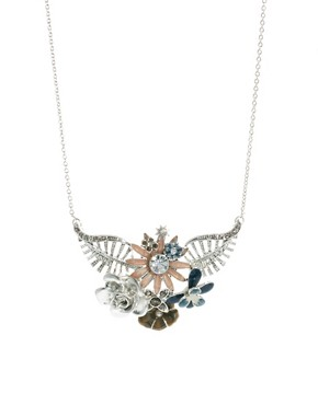 Image 1 ofPilgrim Floral Necklace
