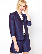 Boutique by Jaeger Blazer in Ladybird Print