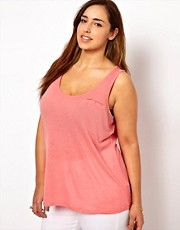 New Look Inspire Dip Hem Vest